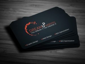 few business cards with you.