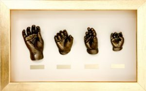 Hand and Foot Impressions in Miniature Sizes