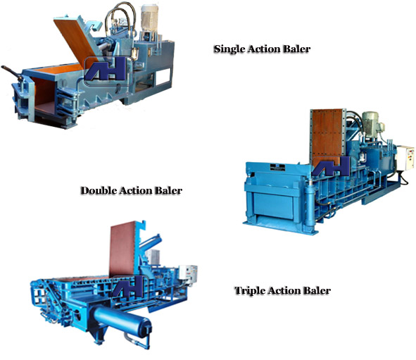 Types of Baling Press According to Certain Categories