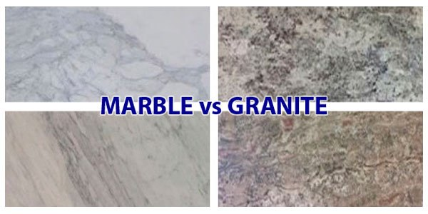 Granite vs. Marble – the better material for making countertops